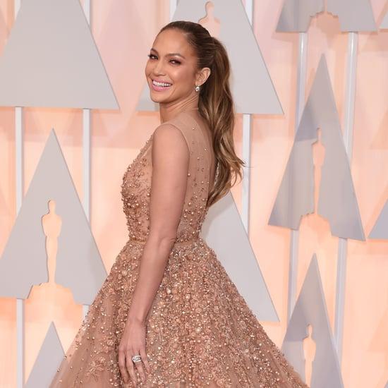 Jennifer Lopez's Dress at the Oscars 2015