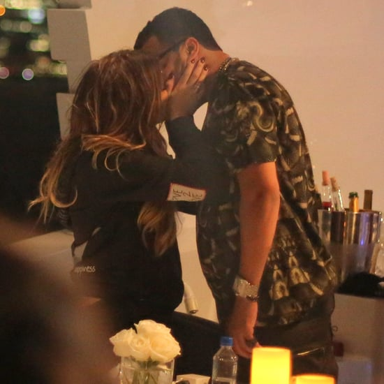 Khloe Kardashian and French Montana PDA on a Boat   Pictures