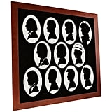 Doctors Paper Silhouette ($220)