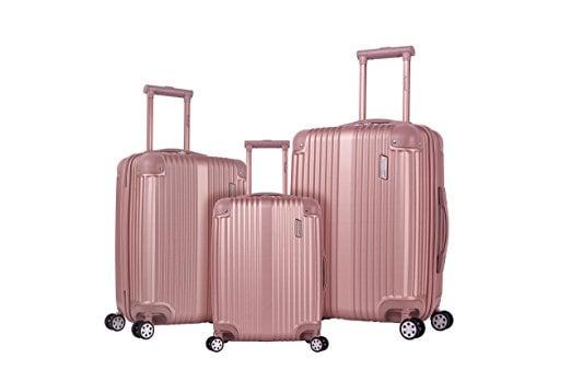 Rockland Hardside Spinner 3-Piece Luggage Set