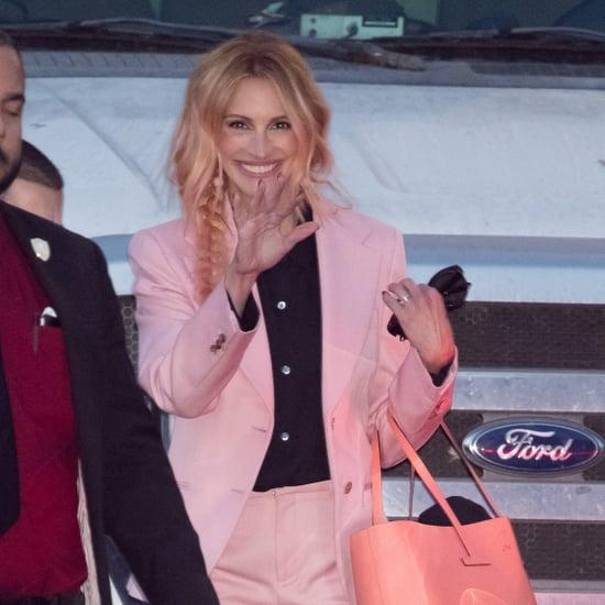 Julia Roberts's Pink Hair November 2018