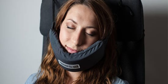 Yes, This Is A Head Hammock For Napping On Planes And It's Amazing