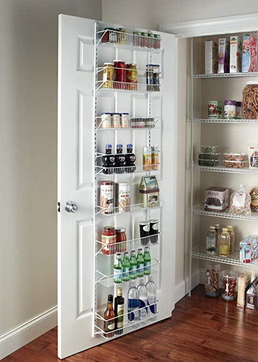 ClosetMaid Adjustable 8-Tier Wall and Door Rack
