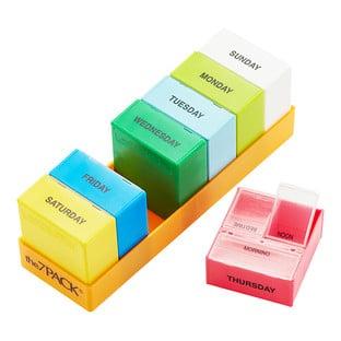Three-Section Pill Organizer
