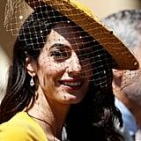 Amal Clooney Royal Wedding Makeup