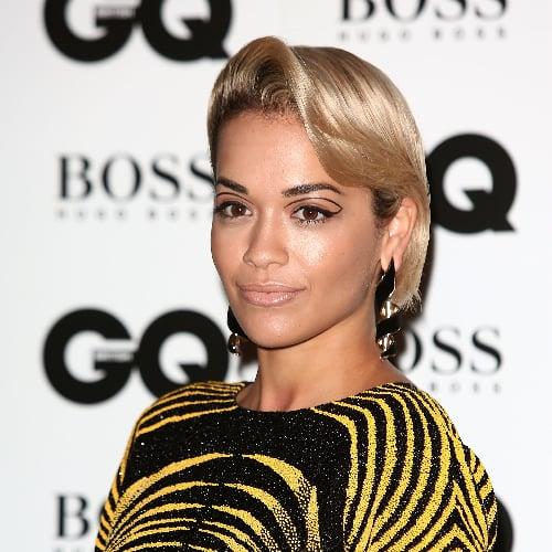 Rita Ora Graphic Eyeliner Look