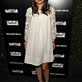 Natalie Portman in Lace LWD at the 2011 Vanity Fair Hollywood Party
