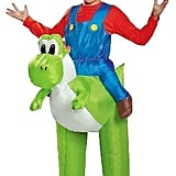Super Mario Nintendo Kids' Mario Riding Yoshi Inflatable Costume