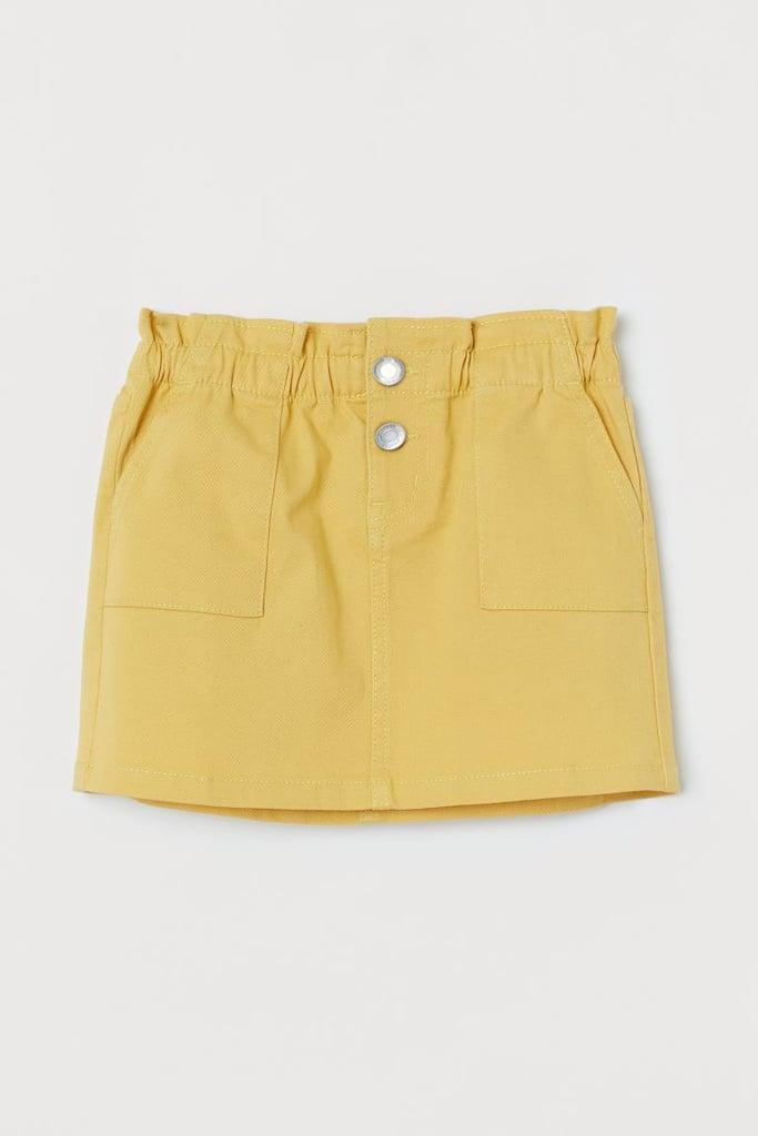 Twill Utility Skirt