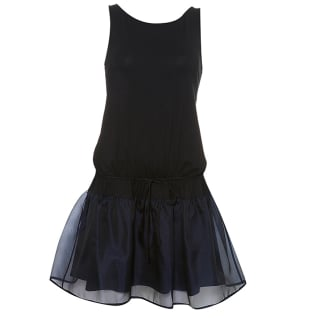 Organza Hem Dress $90 @ Topshop