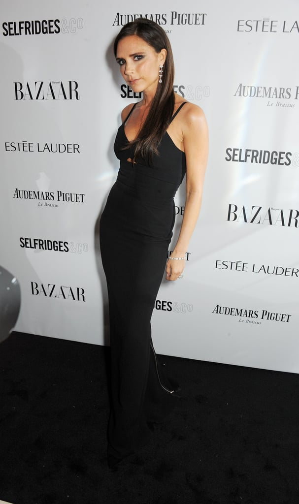 Victoria Beckham stepped out for the Harper's Bazaar Women of the Year Awards in London on Tuesday.