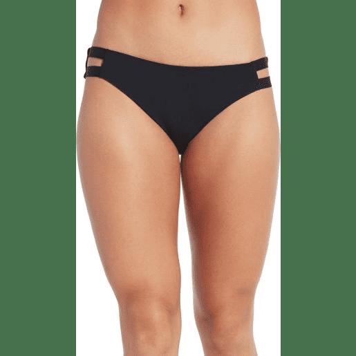 CALIA Women's Elastic Side Bikini Bottom
