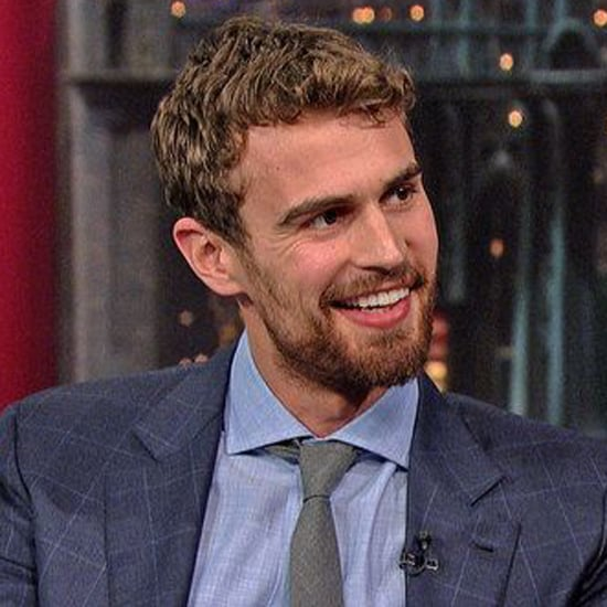 Theo James on Late Show With David Letterman 2015