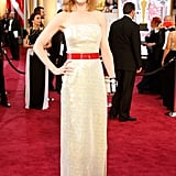 Nicole wearing Louis Vuitton at the 2015 Oscars.