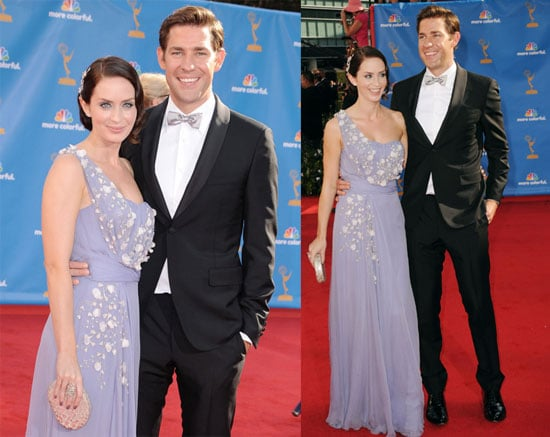 Pictures of John Krasinski and Emily Blunt
