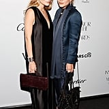 Ashley and Mary-Kate Olsen stepped out in NYC for WSJ Magazine's Innovator of the Year Awards.