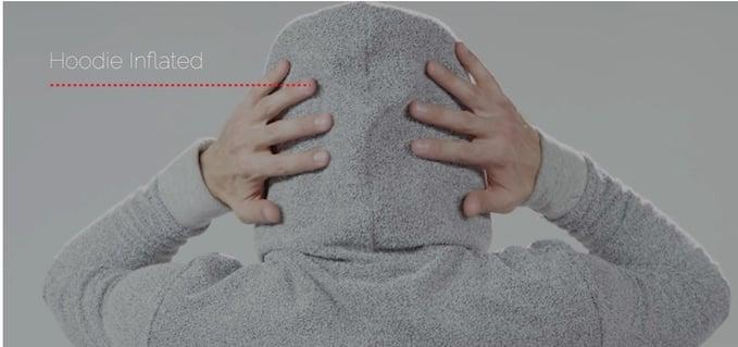Inflatable Sleep Hoodie The Hypnos Hoodie