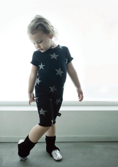 Star Print Shirt and Shorts