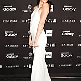 At the Harper's Bazaar Icons event, Kendall walked the red carpet in a slinky Calvin Klein gown.