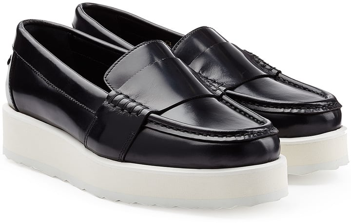 Pierre Hardy Patent Leather Platform Loafers ($595)