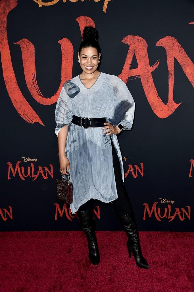 Jordin Sparks at the World Premiere of Mulan in LA
