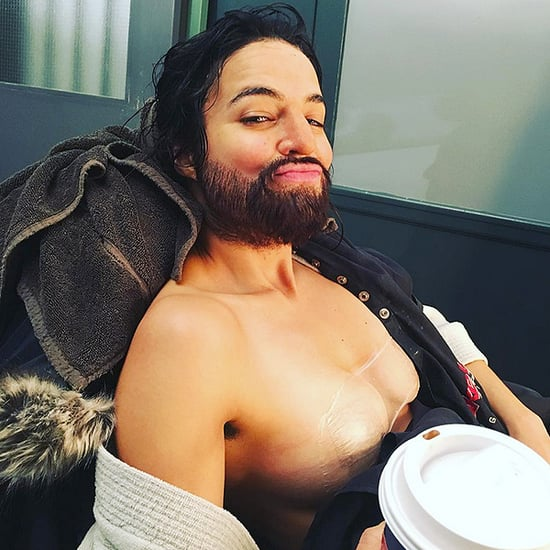 Michelle Rodriguez Shows Off the Beard and Breast Binding She Wore for New Film