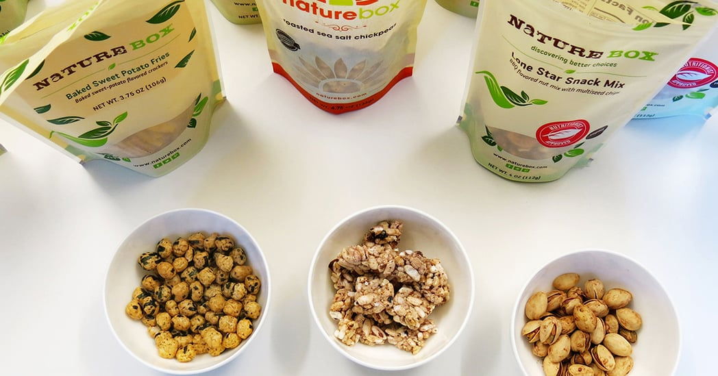 Indulgently Healthy Snacking With NatureBox
