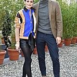 Olivia Palermo and Johannes Huebl at Tod's Fall 2019