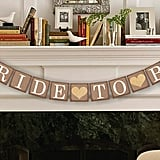 Bride-to-Be Banner