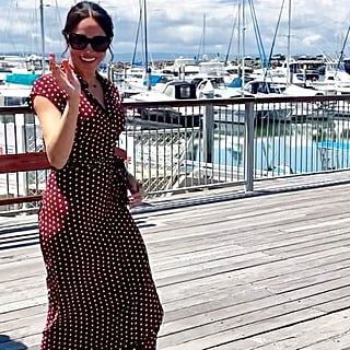 Meghan Markle Polka Dot and Other Stories Dress October 2018