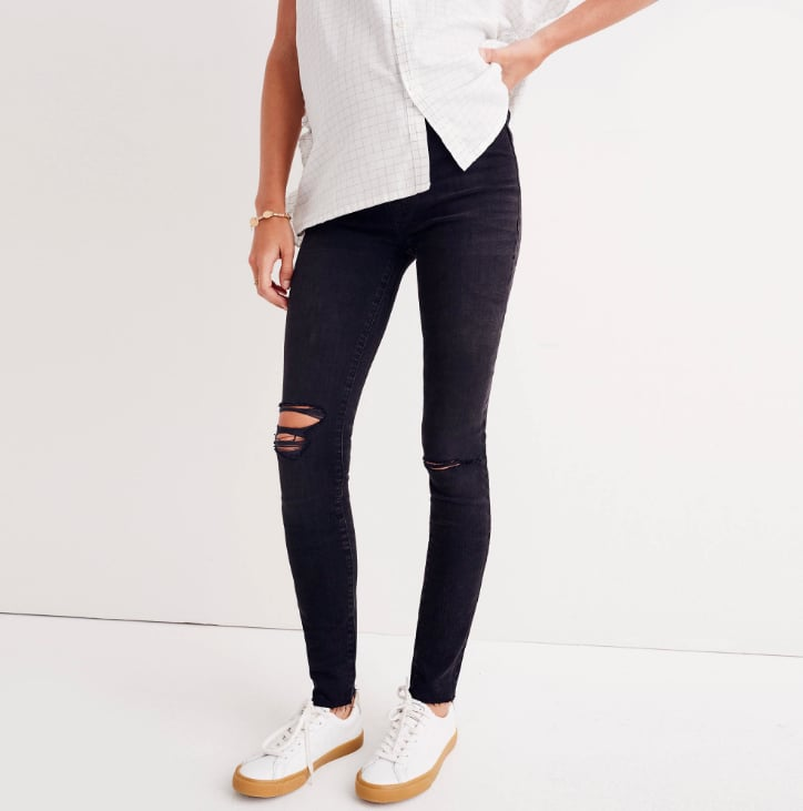 Madewell Over-the-Belly Skinny Jeans