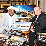 You'll find Samuel L. Jackson at Jumeirah's latest property