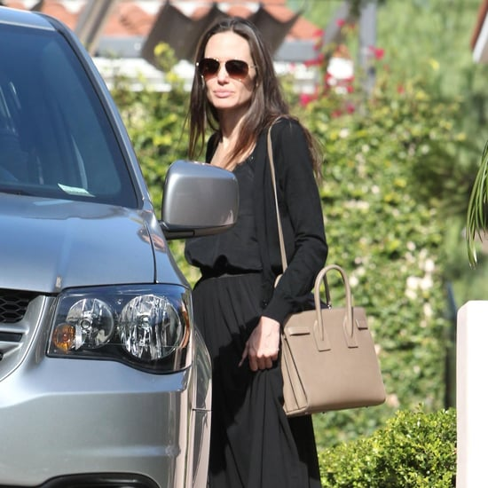 Angelina Jolie Out in LA December 2016