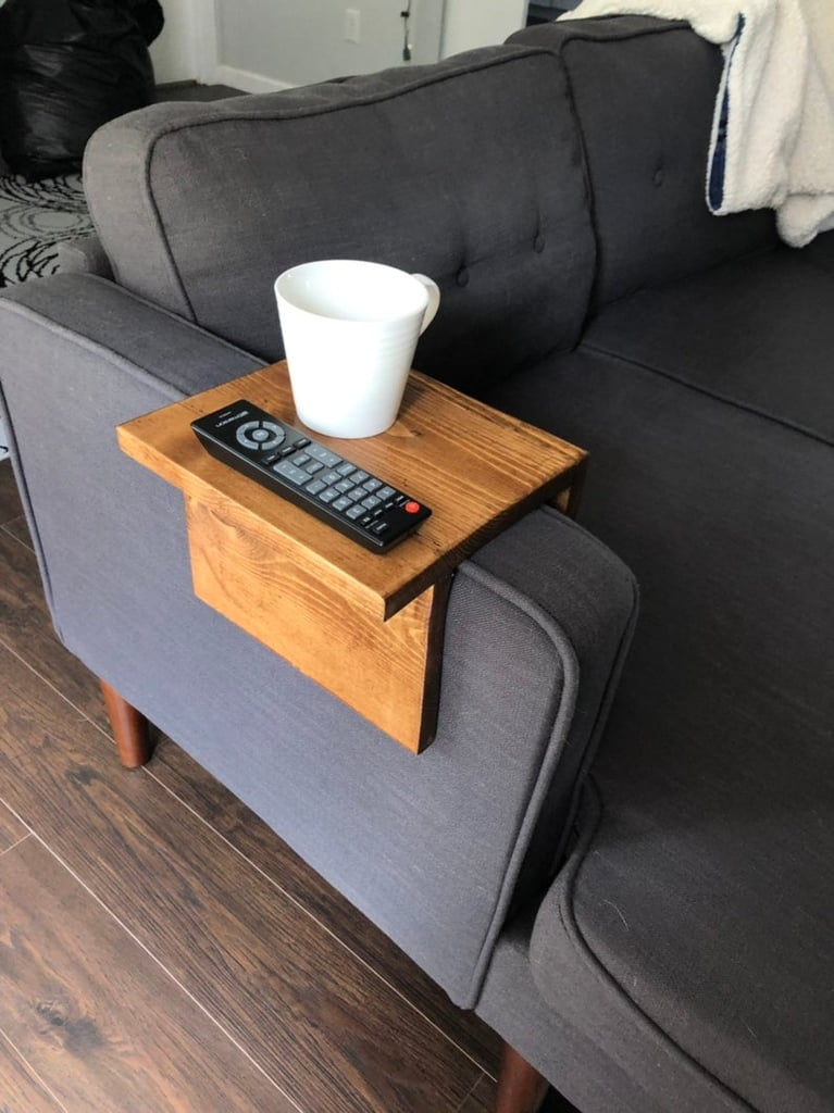 Etsy Sofa Arm Table With Ledge