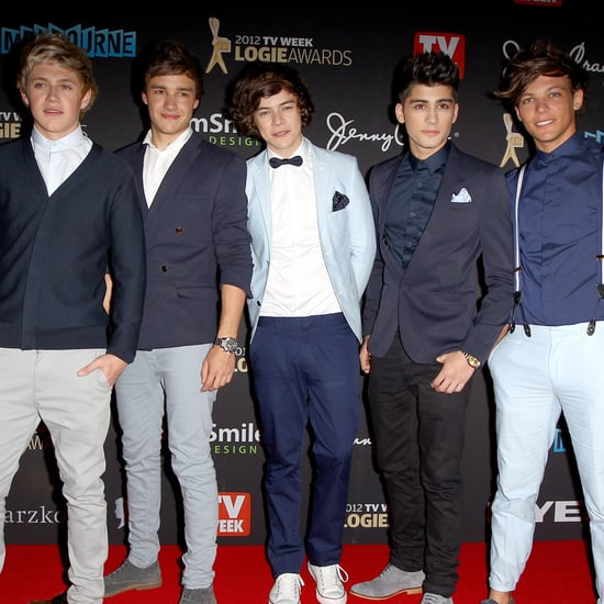One Direction and Their Hairstyles at the 2012 Logies