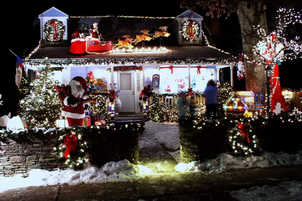 Christmas Decorated Homes