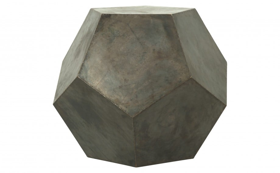 Resembling a brutalist, modern boulder, the Geo Stool ($800) would also work well as a side table.