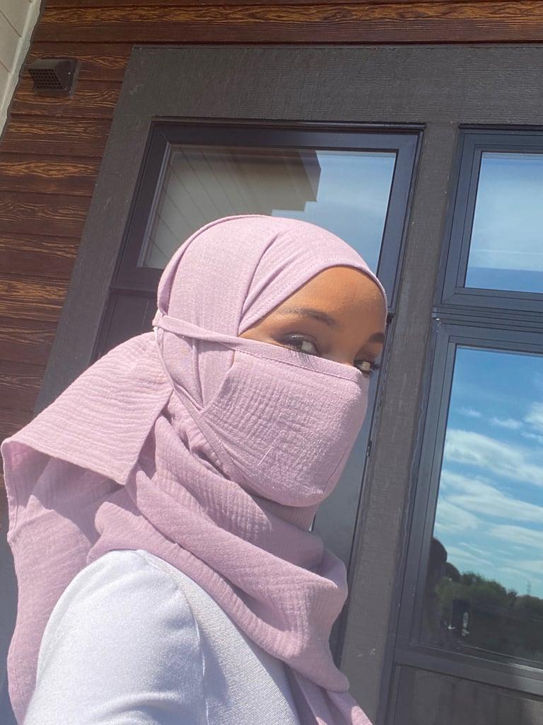 Halima Aden Made Face Masks For Hijabi Front-Line Workers