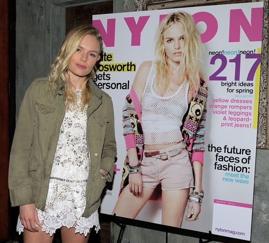 Pictures of Kate Bosworth at a Party For Her Nylon Cover With Alexander Skarsgard 2011-03-11 08:11:32