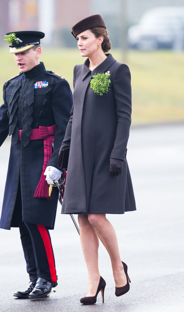 Kate Middleton at a St. Patrick's Day Parade in 2015
