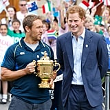 Two Days Later, He Announced Plans For the Rugby World Cup Trophy Tour
