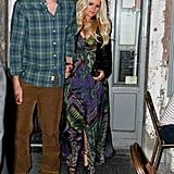 Jessica Simpson and Eric Johnson hit the town in NYC.