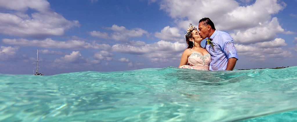 The Photos From This Mermaidy Sandbar Wedding Will Make Your Jaw Drop