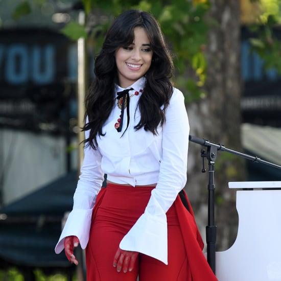 Camila Cabello Blue Braids