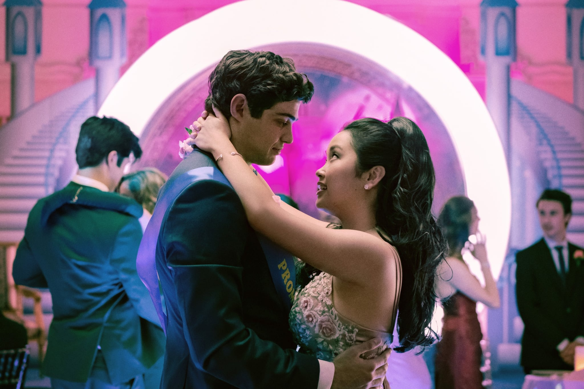TO ALL THE BOYS: ALWAYS AND FOREVER, from left: Noah Centineo, Lana Condor, 2021.  ph: Katie Yu / Netflix / Courtesy Everett Collection