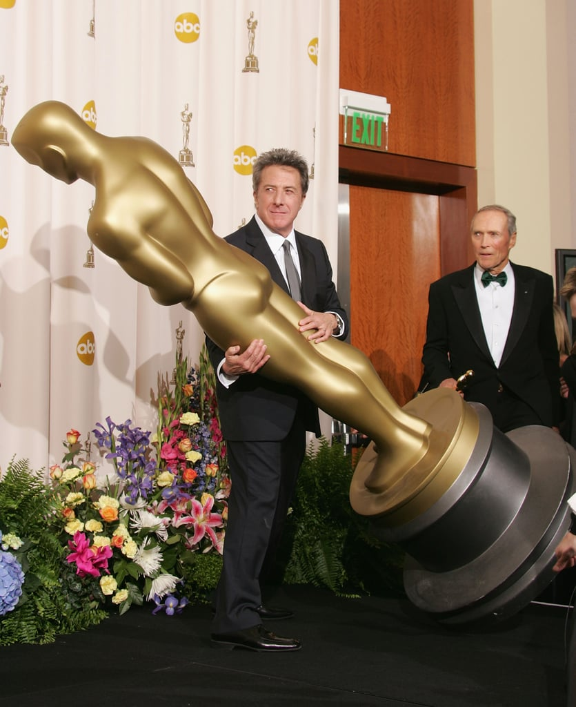 Dustin Hoffman and Clint Eastwood, 2005