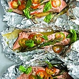 Michael Symon's Salmon With Rosemary and Garlic