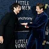 Pictured: Louis Garrel and James Norton at the Little Women world premiere.