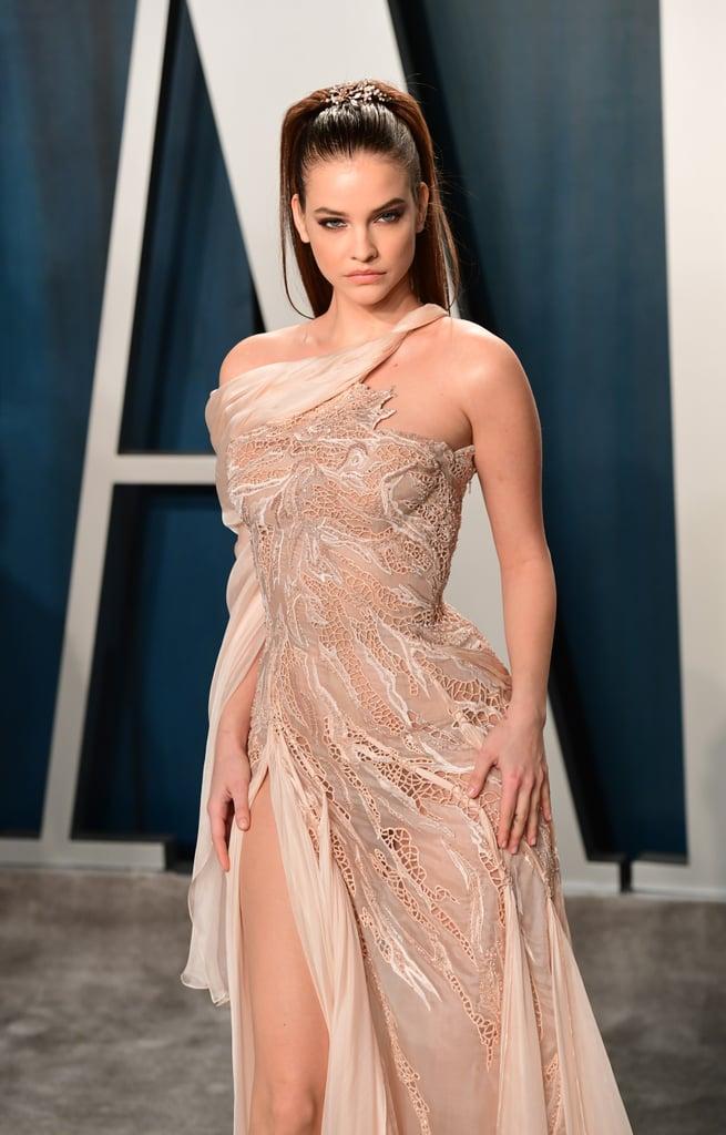 Barbara Palvin at the Vanity Fair Oscars Afterparty 2020
