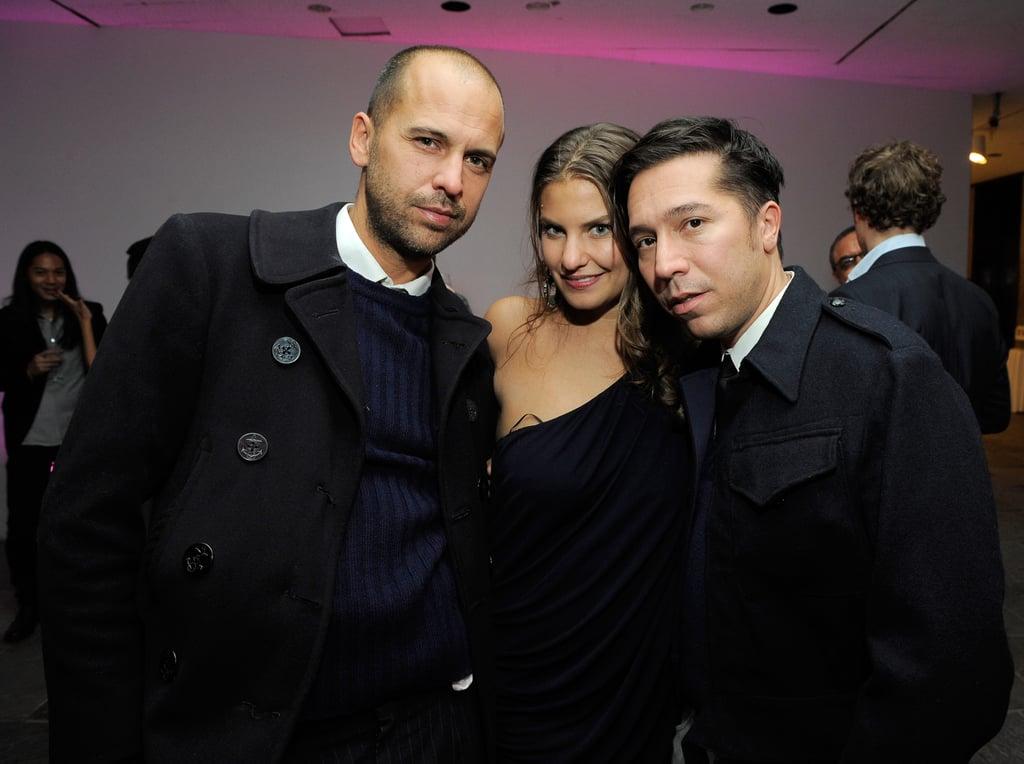 Ruffian's Claude Morais and Brian Wolk with Antonia Thompson